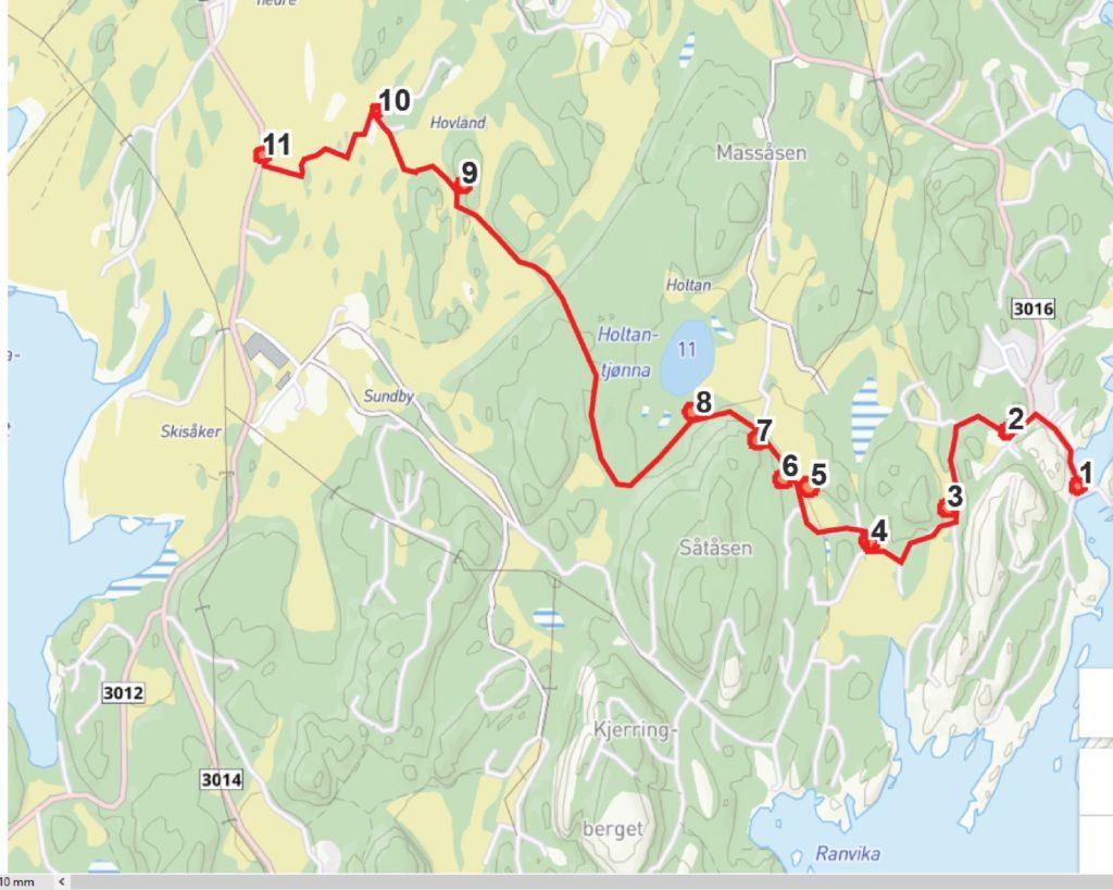 Kjerringvik-Viksfjord historisk rute